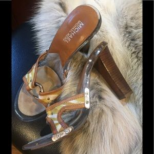 CLEAR SOLES M KORS Limited Edition GorG Slides s 7